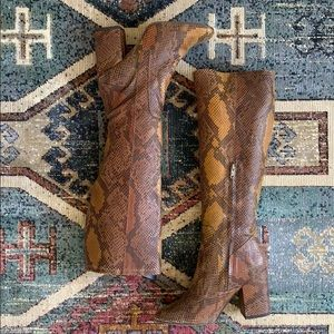 Free People Higher Ground knee high boots 37 NEW